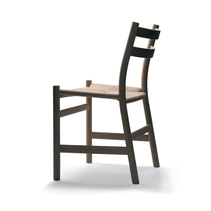 Carl Hansen - CH47 stol i egetræ sædet med naturlig fletning