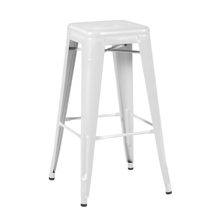 H75 Barstol Indoor fra Tolix i blank hvid