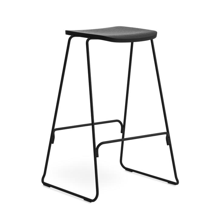 Bare barstol H 75 cm af Normann Copenhagen i sort
