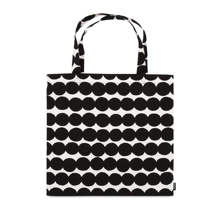 Räsymatto Mulepose fra Marimekko i sort og hvid