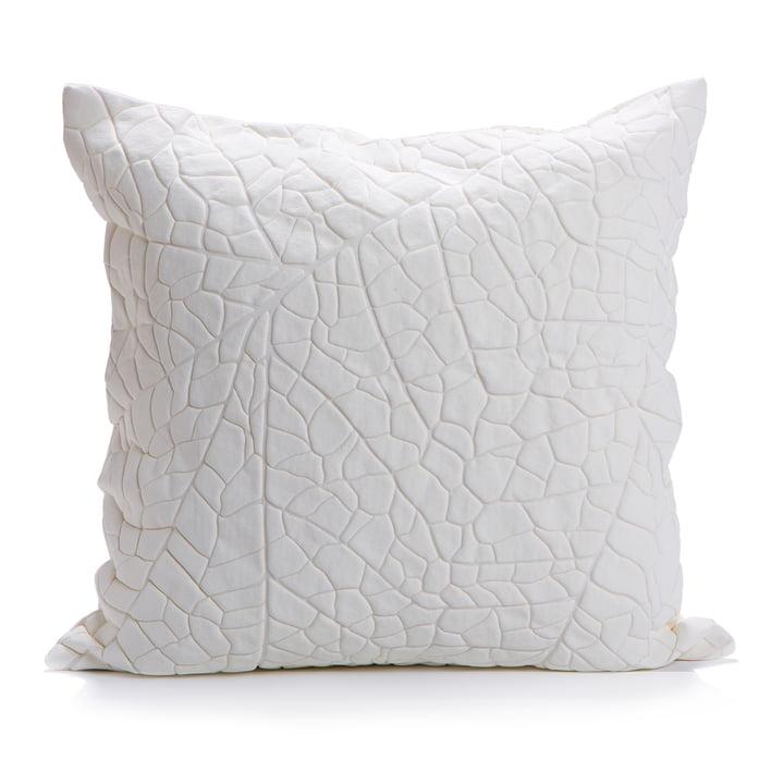 Mika Barr - Vein pudebetræk, 50 x 50 cm, hvid