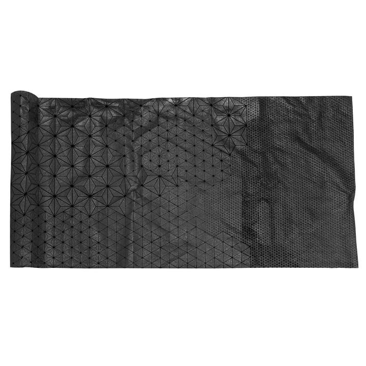 Mika Barr – Tamara bordløber, 220 x 50 cm, sort