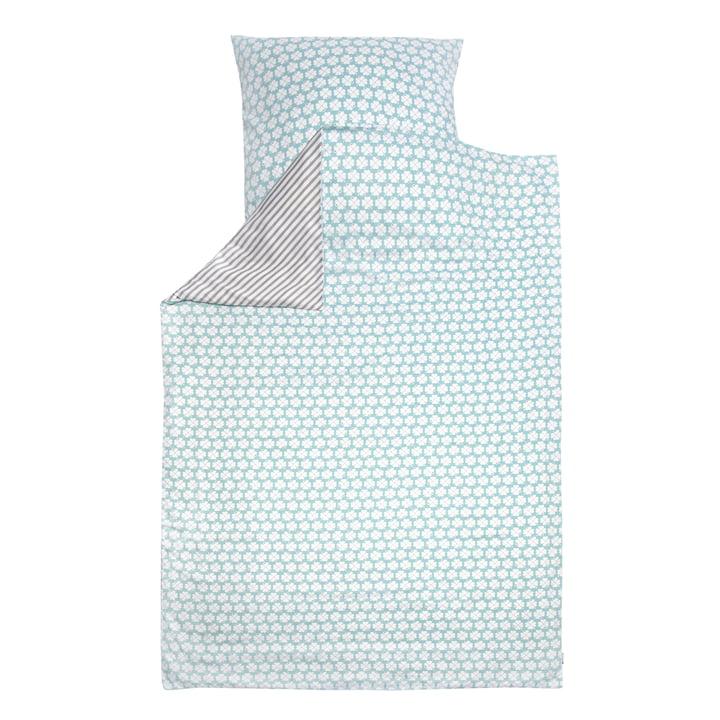 Sengetøj Kløver af byGraziela i Blå / Grå