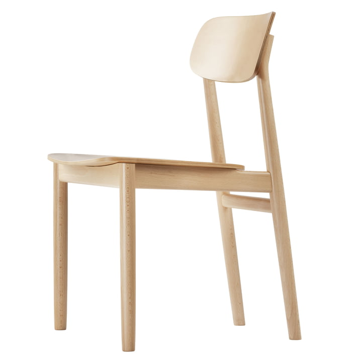 130 stol fra Thonet i naturligt bøg (TP 17)