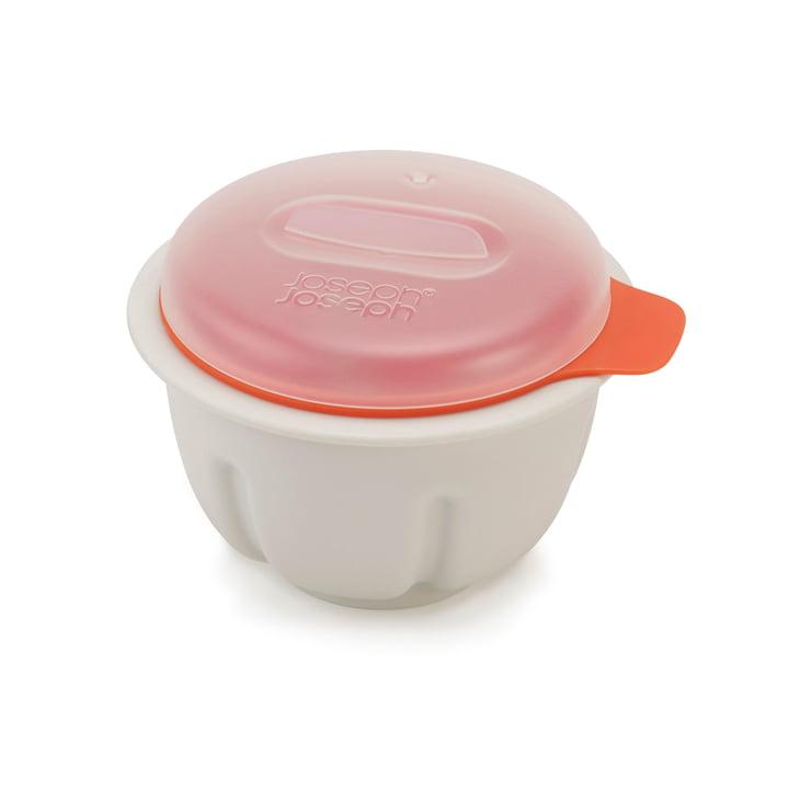 M-Cuisine æggepocherer til mikrobølgeovn fra Joseph Joseph i orange