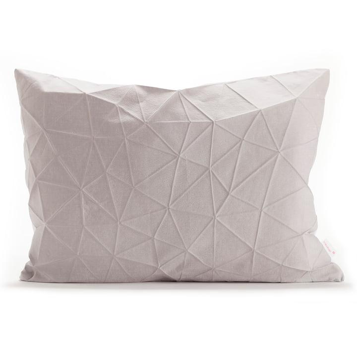 Mika Barr - Pinion pudebetræk, 55 x 40 cm, lys grå