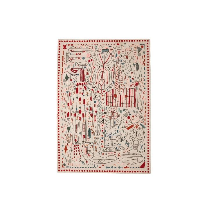 nanimarquina ─ Hayon x Nani, 170 x 240 cm, flerfarvet