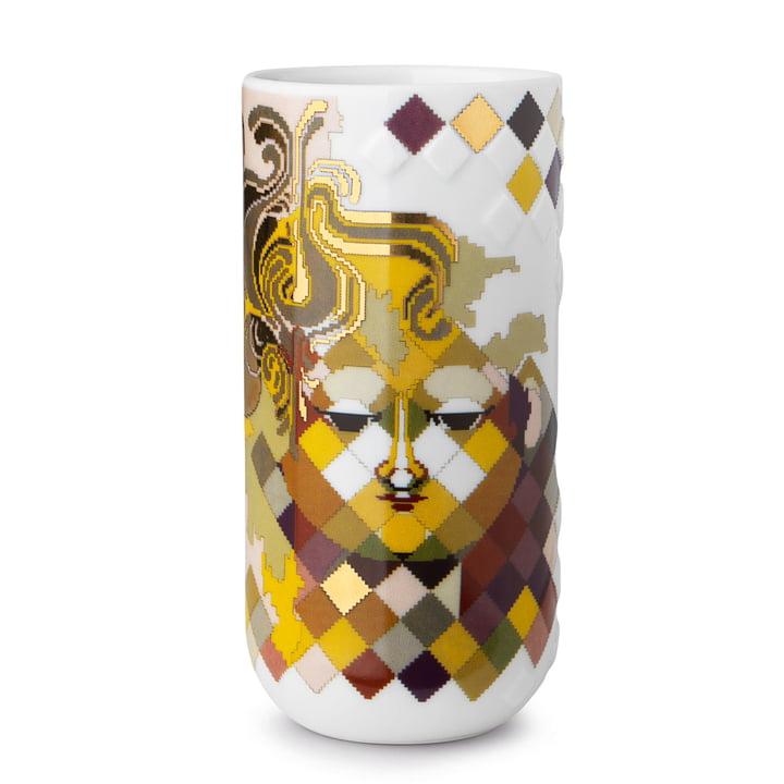 Gobelin vase i H 18 cm fra Bjørn Wiinblad