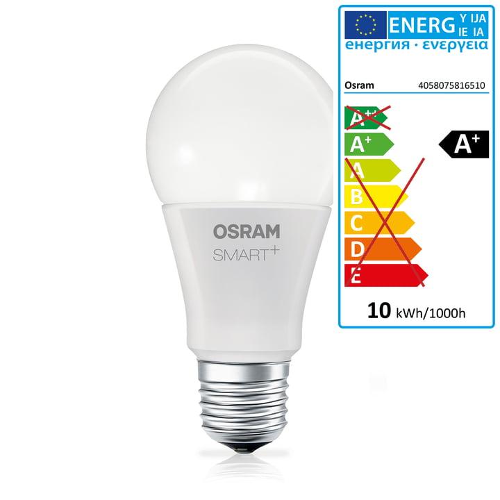 SMART + væg- og loftslampe fra Osram