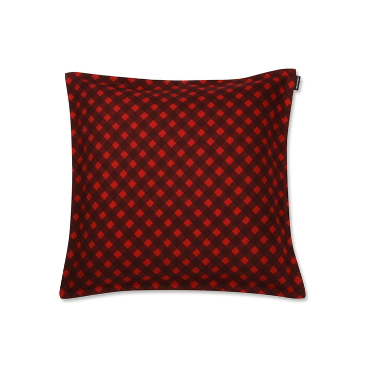 Okko pudebetræk på 40 x 40 cm fra Marimekko i rød
