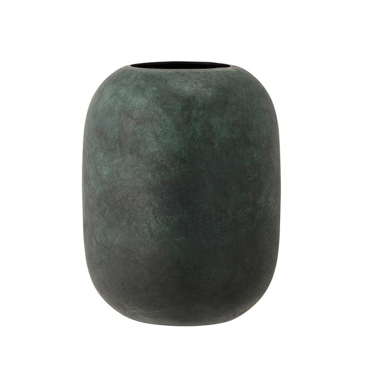 Bloomingville – metalvase, H 18 cm i grøn