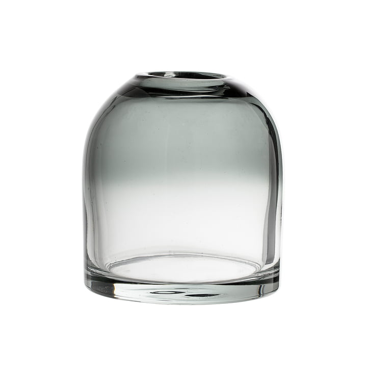 Bloomingville – glasvase, H 13 cm, grå