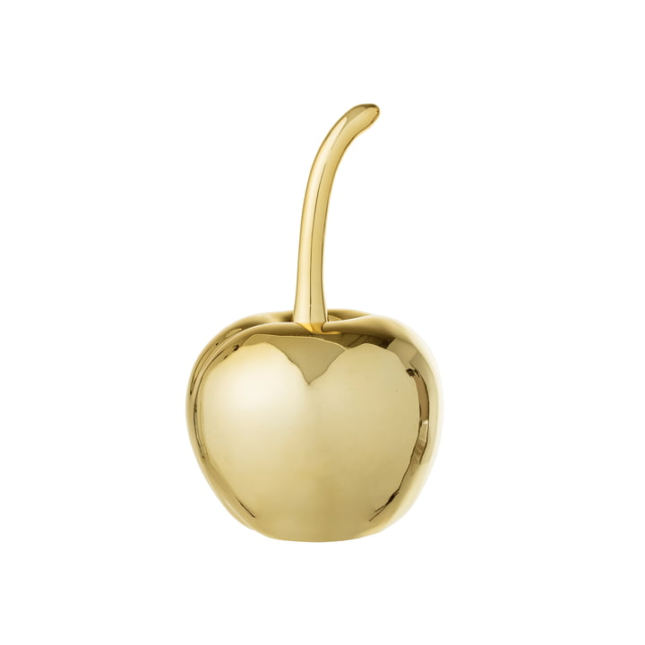 Pyntekirsebær Ø 5, H 9 cm fra Bloomingville i guld