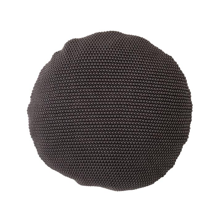 Bloomingville – bomuldspude, Ø 50 cm i grå