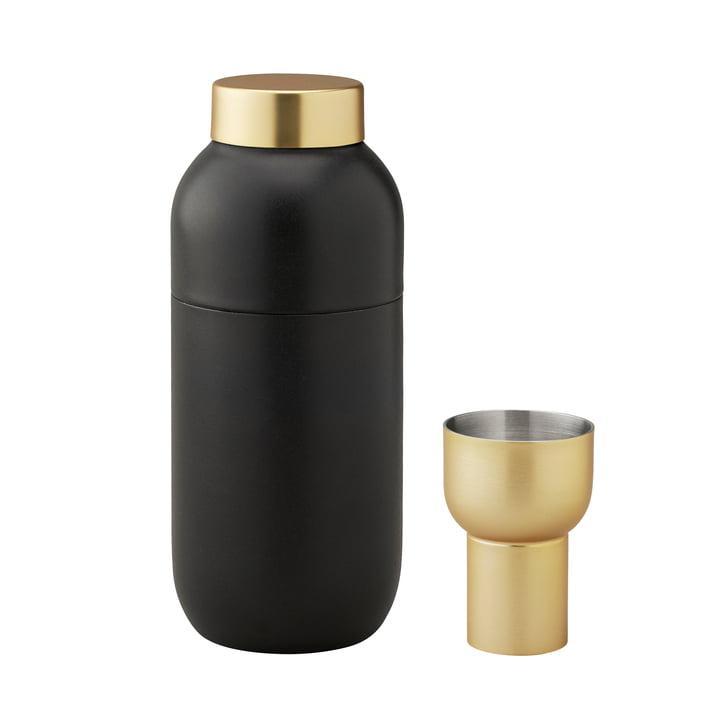 Collar Cocktail Shaker 500 ml og målebæger fra Stelton