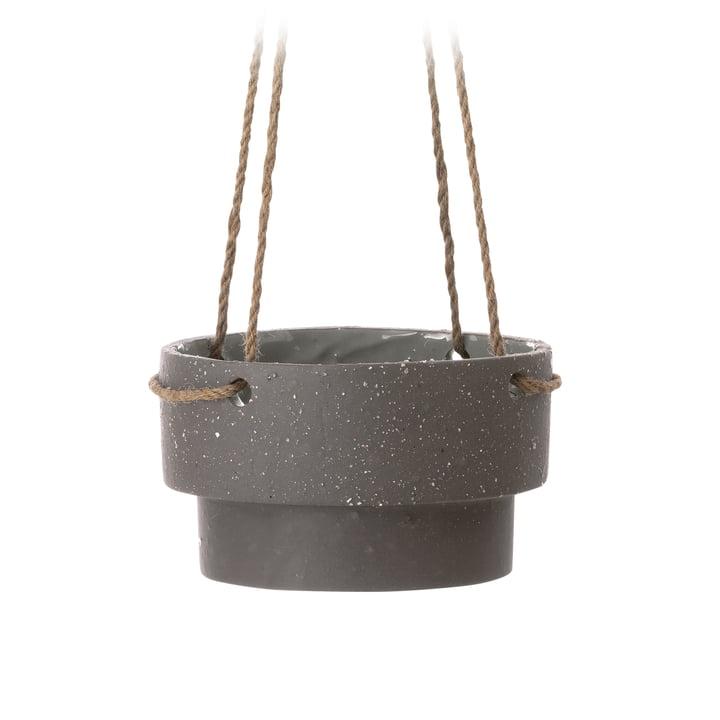 ferm Living - hængene plantekrukke, medium / brun