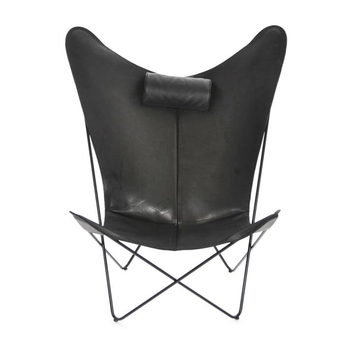 KS stol fra Ox Denmarq i sort stål/sort læder
