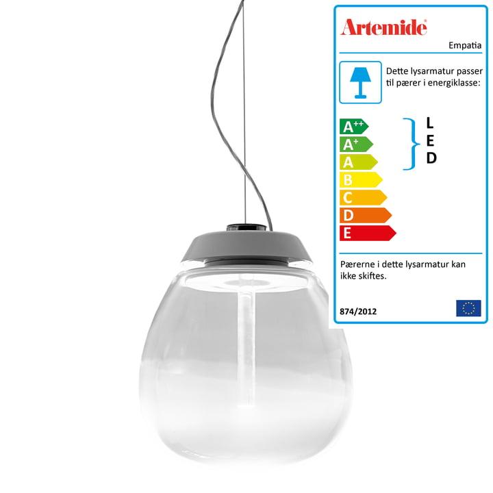 Artemide – Empatia LED-pendel, hvid
