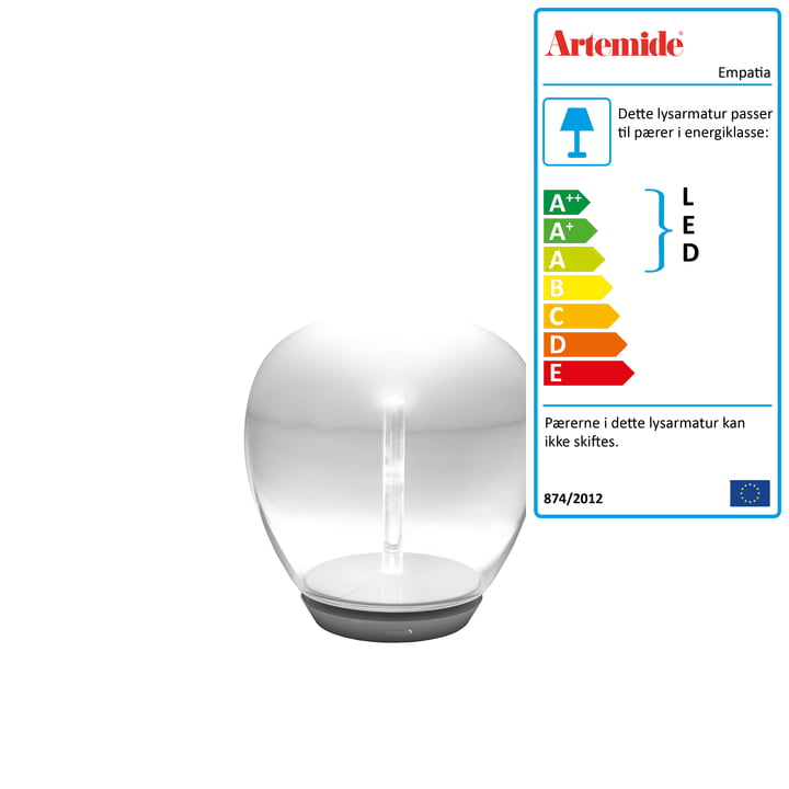 Artemide - Empatia 16 Tavolo LED bordlampe, hvid