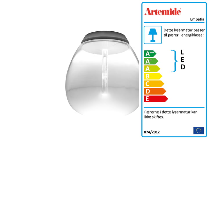 Artemide - Empatia Soffitto LED loftslampe, hvid