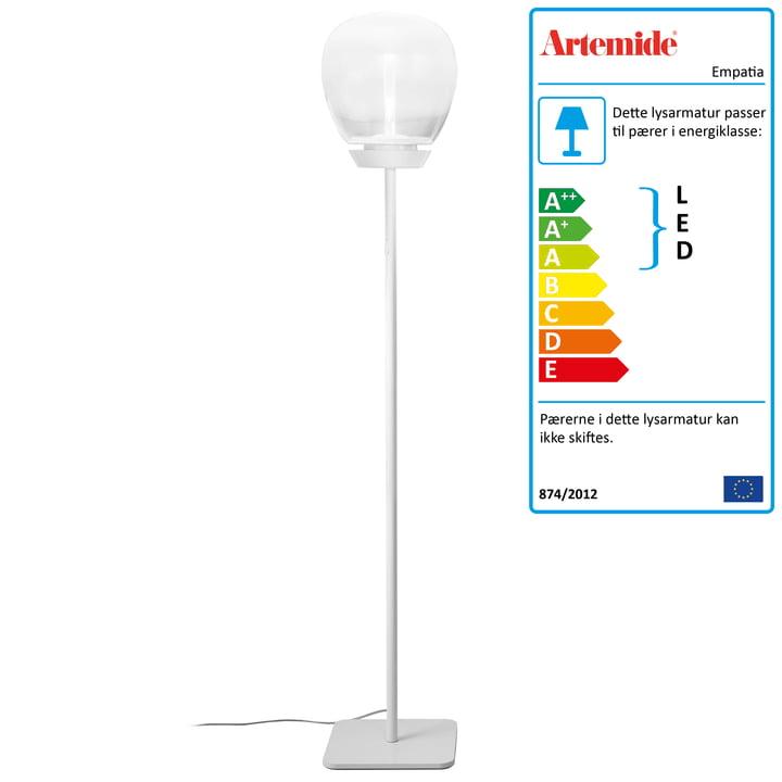 Artemide – Empatia 26 Terra LED-gulvlampe, hvid