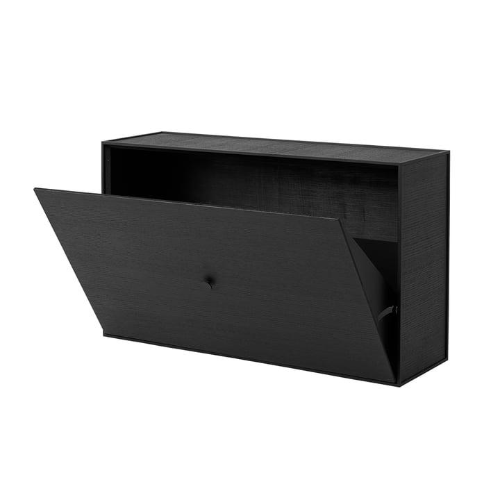 Frame Shoe Cabinet fra by Lassen i sort ask