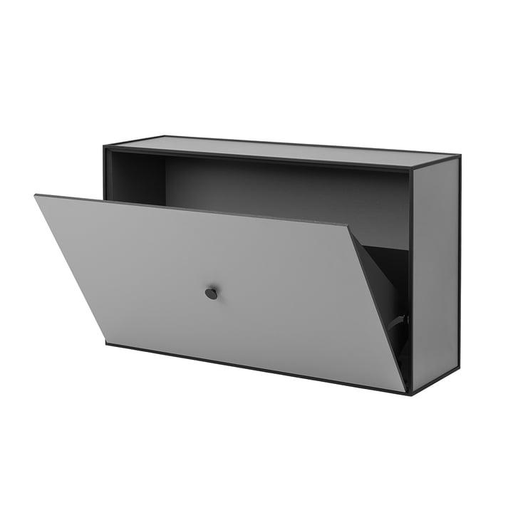 Frame Shoe Cabinet fra by Lassen i mørkegrå