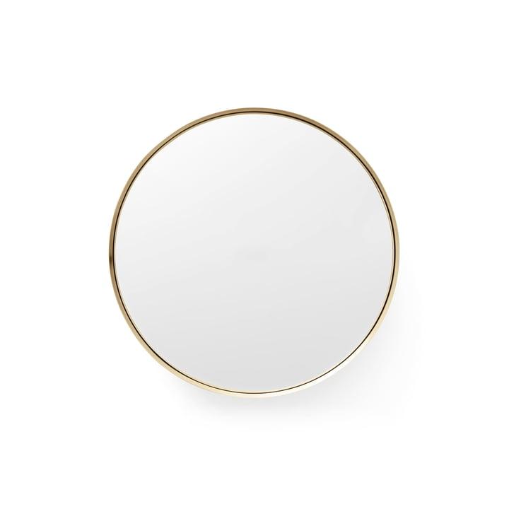 Darkly spejl, S Ø 20 cm fra Menu i messing