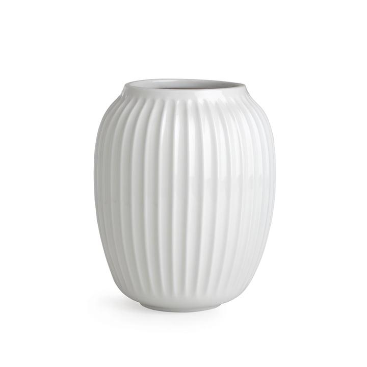 Hammershøi Vase H 20 cm af Kähler Design i hvid