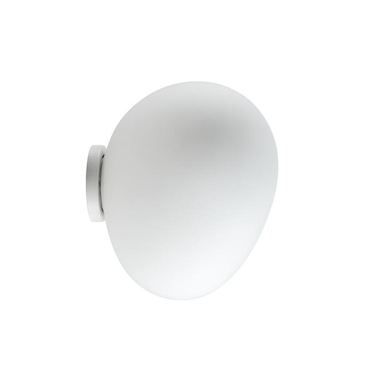 Foscarini – Gregg LED-væg- og -loftslampe, medium/hvid