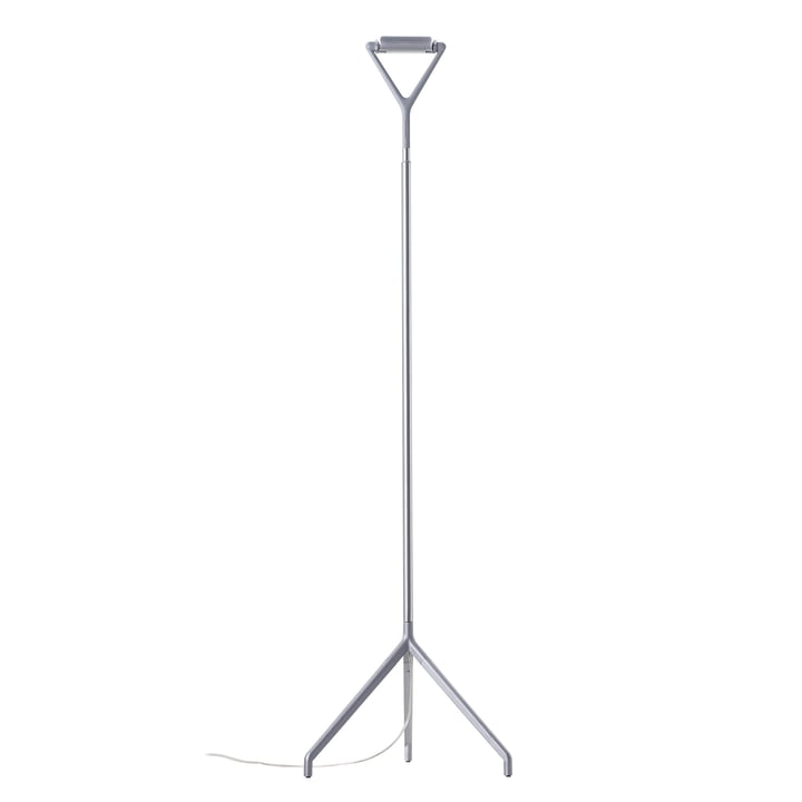 Lucaplan - Lola gulvlampe D15 ND, Aluminium