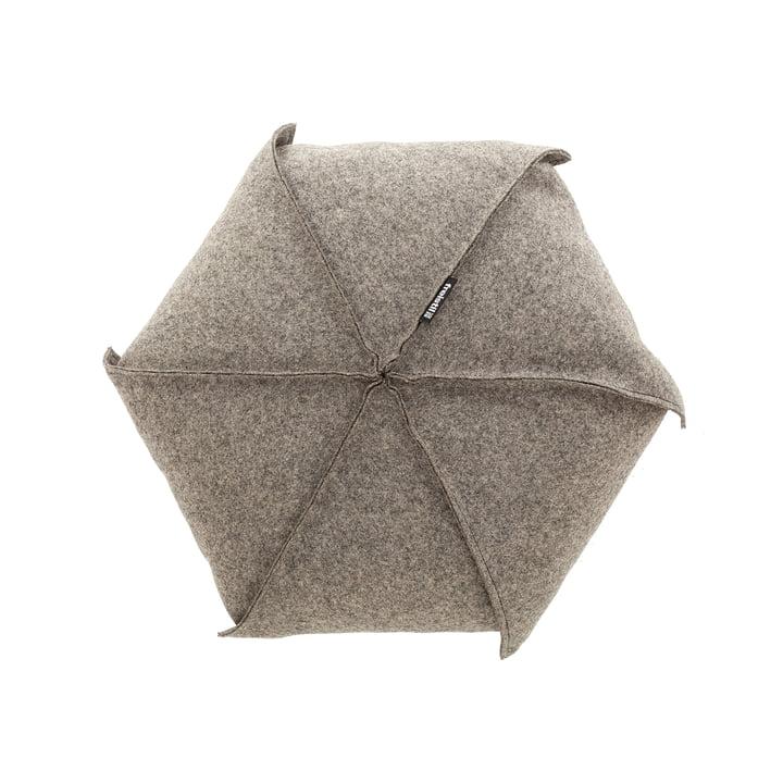 179 puder 48 x 7404 cm fra freistil i beige/grå (7404)