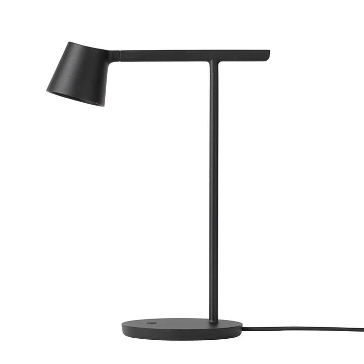 Tip bordlampe fra Muuto i sort
