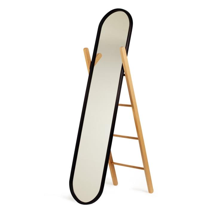 Umbra – Hub spejl, sort/ubehandlet