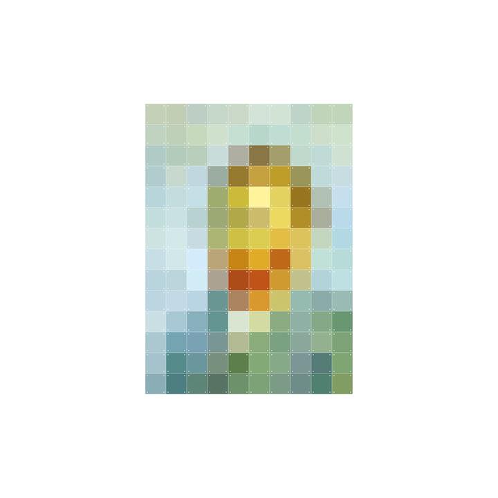 Van Gogh (Pixel) 100 x 140 cm fra IXXI