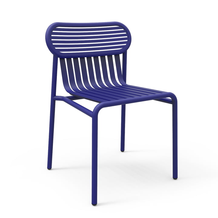 Petite Friture – Week-End udendørs stol, blå (RAL 5002)