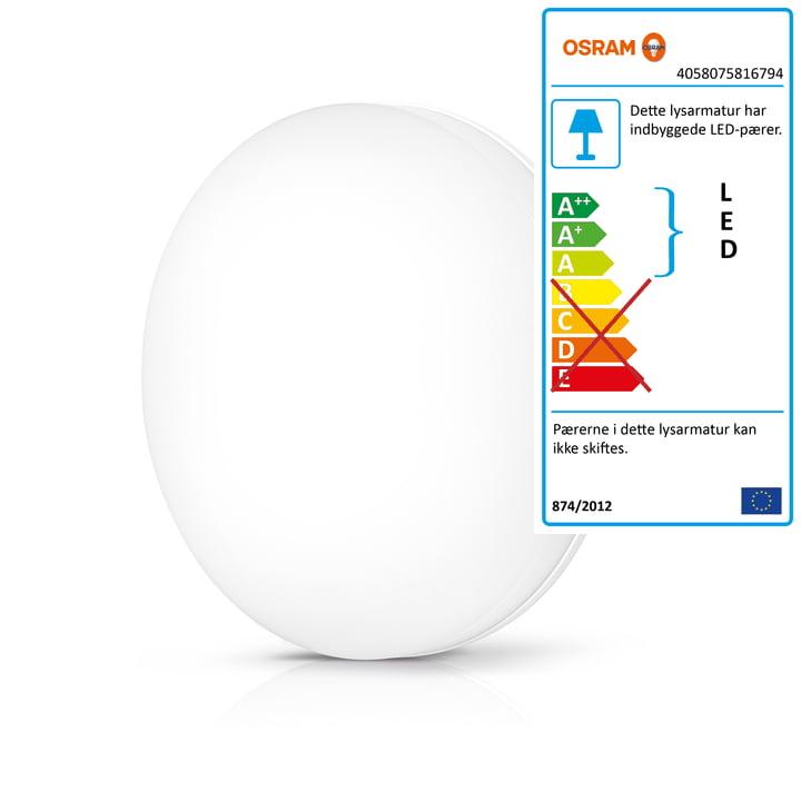 Osram – SMART+ væg- og loftslampe Ø 33 cm i hvid