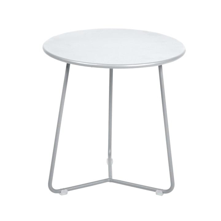 Fermob – Cocotte sidebord/taburet, Ø 34 cm x H 36 cm i bomuldshvid