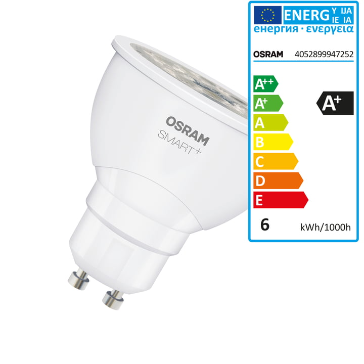SMART+ LED PAR 16-Lampe (GU10 / 6 W) fra Osram