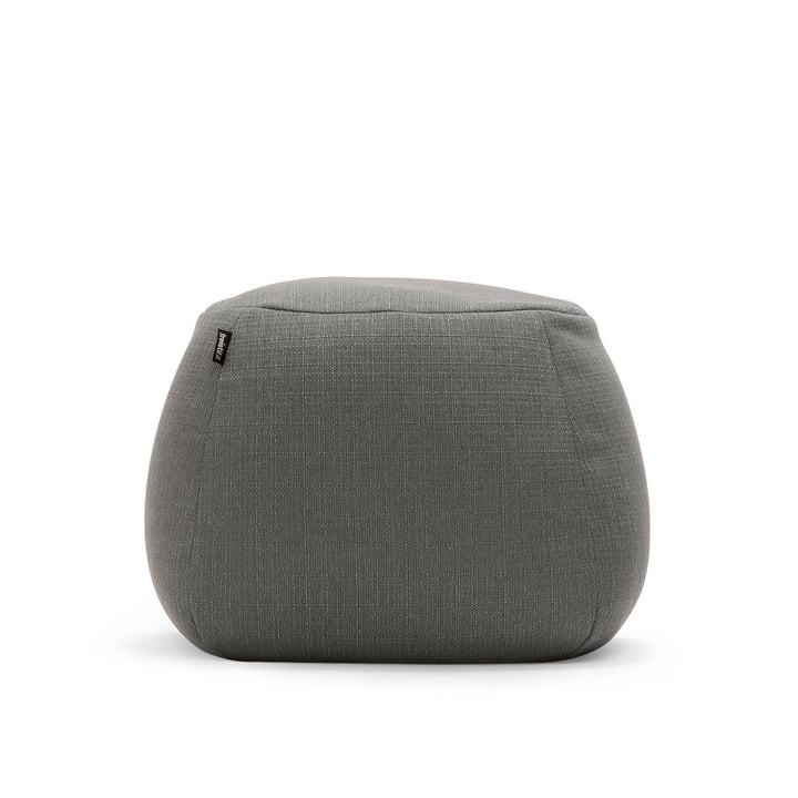 freistil – 173 puf, Ø 55 cm i grå (1026)
