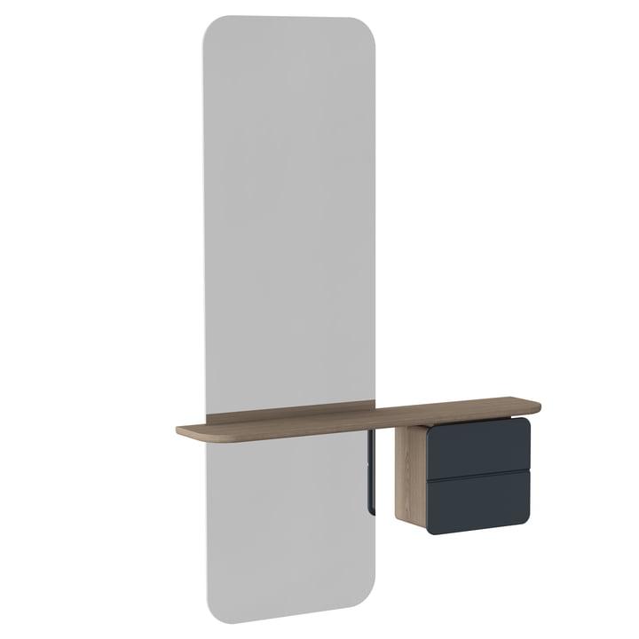 Umage – One More Look spejl, antracitgrå