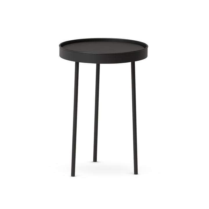 Northern – Stilk sofabord lille, Ø 35 x H 50 cm, sort