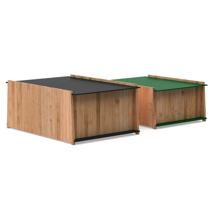 We Do Wood – Chest 1-2 opbevaringskasser, bambus