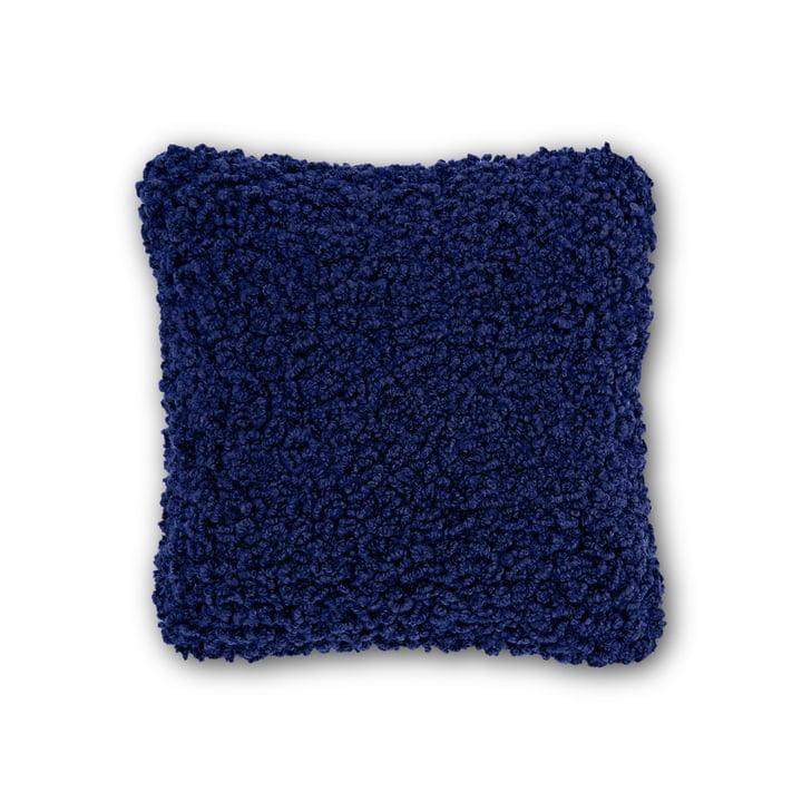 Boucle pude, 45 x 45 cm, af Tom Dixon i elektrisk blå