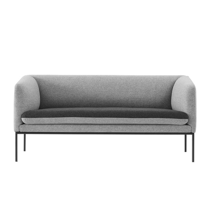 ferm LIVING – Turn sofa (topersoners), mørkegrå/lysegrå