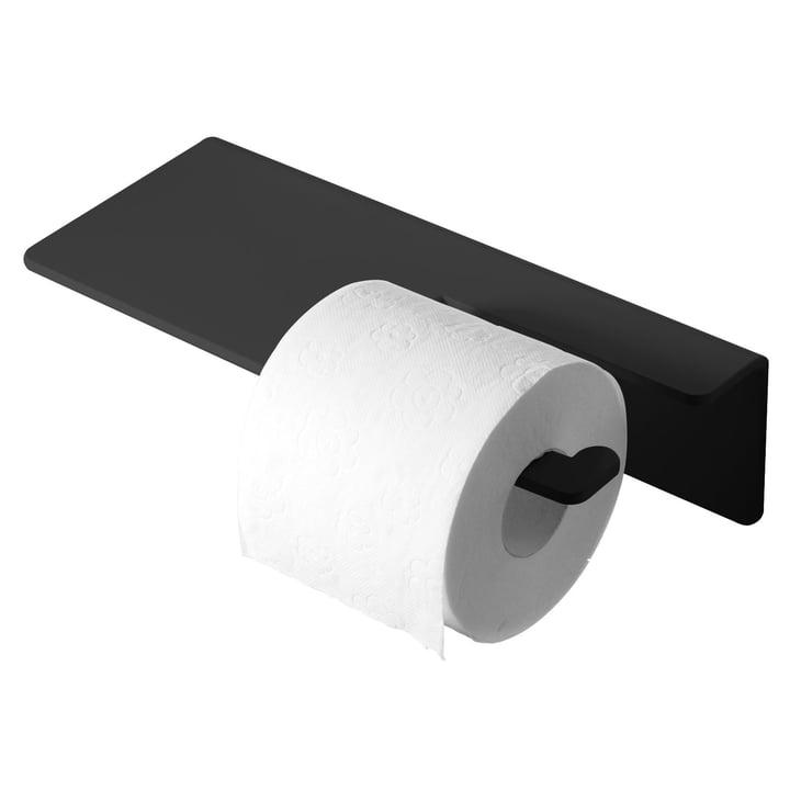 Puro toiletpapirholder fra Radius Design i sort