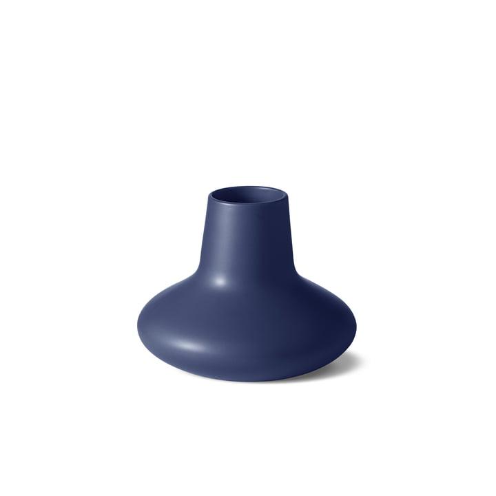Georg Jensen – Henning Koppel vase, small, blå stentøj
