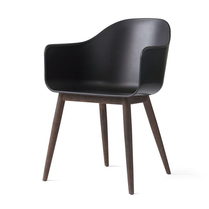 Harbour Chair (træ) fra Menu i egetræ mørk / sort