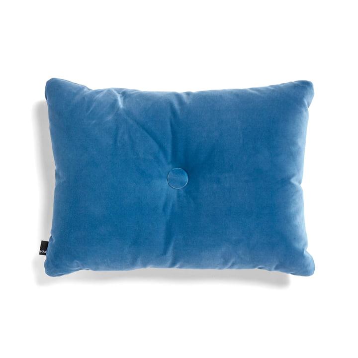 Hay – Dot Soft pude, 45 x 60 cm, blå