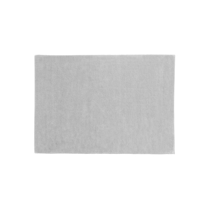 Hay – Raw No. 2 tæppe, 140 x 200 cm, lysegrå